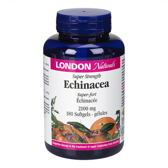 London Naturals Echinacea Super Strength - 2100mg - 180's