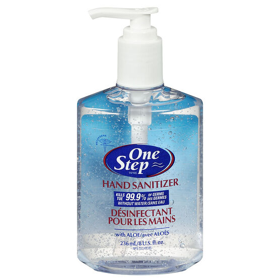One Step Original Hand SanitizerWith Pump - 236ml