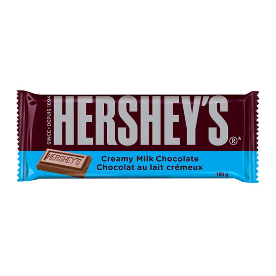 Hershey's Milk Chocolate Bar - 100g | London Drugs