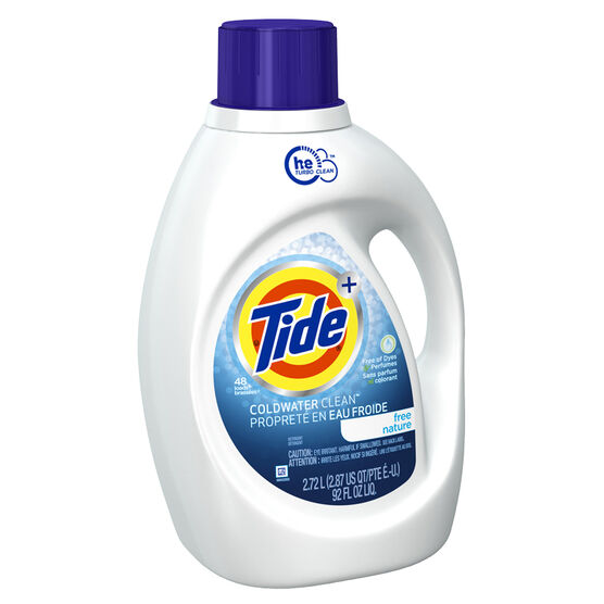 Tide HE Cold Water Liquid Laundry Detergent - 2.72L/48 use