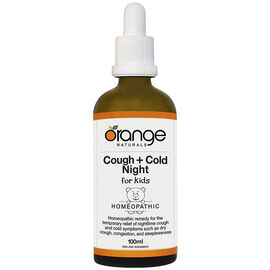 Orange Naturals Cough + Cold Night for Kids - 100ml