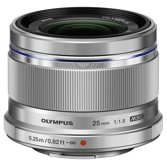 Olympus 25mm F1.8 Lens - Silver - V311060SU000