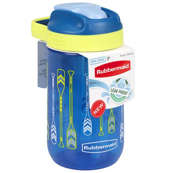 Rubbermaid Kids Chug Hydration Bottle - Blue - 414ml