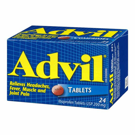 Advil Ibuprofen Tablets - 24's