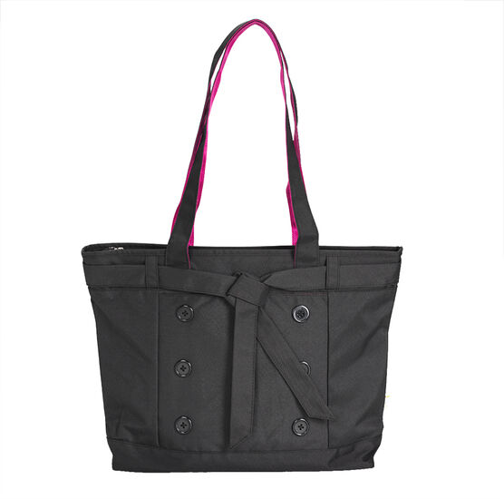 Tree Frog Fashion Laptop Tote - 14 Inch - Polyester - Black