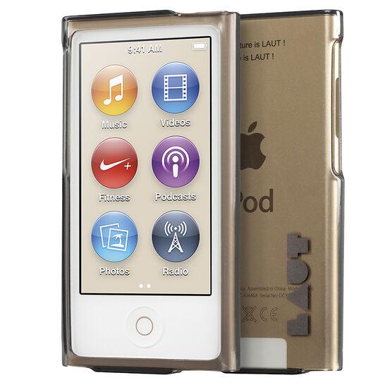 Laut Lume Case for iPod Nano 7G - Ultra Black - LAUTNANOLMUB