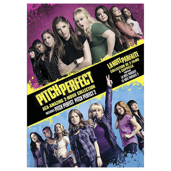 Pitch Perfect Aca-Amazing 2-Movie Collection - DVD