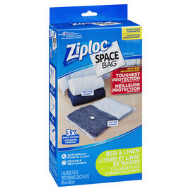 Ziploc Space bags - Large - 2's