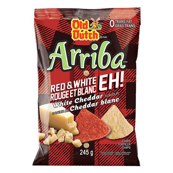 Old Dutch Arriba - White Cheddar - 245g