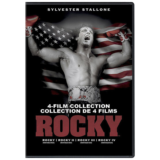 Rocky 4-Film Collection - DVD