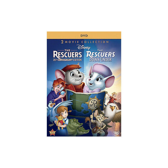 The Rescuers: 35th Anniversary Edition / The Rescuers Down Under - DVD