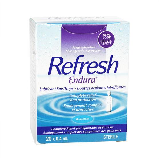 Refresh Endura Eye Drops - 20 x 0.4ml