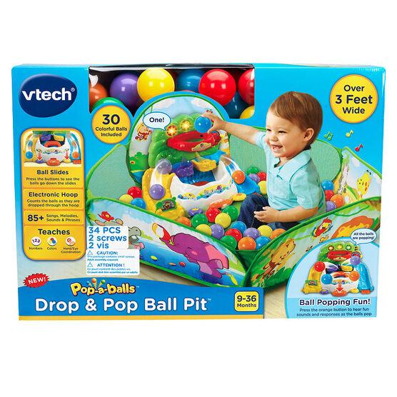 VTech Pop-a-Balls Drop and Pop Ball Pit
