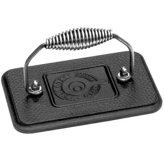 Lodge Cast Iron Grill Press - Black - 6.75inch