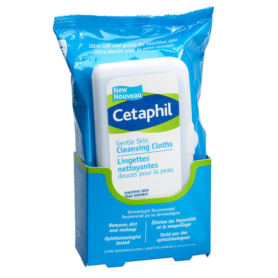 Cetaphil Gentle Skin Cleansing Cloths - 25's
