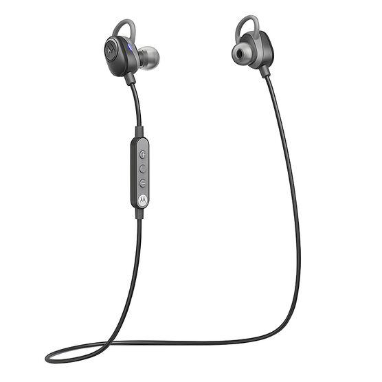 Motorola VerveLoop Wireless Earbuds - Black - SH011BK