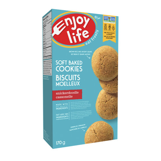 Enjoy Life Gluten Free Soft Baked Cookies - Snickerdoodle - 170g