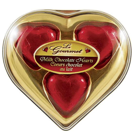 Le Gourmet Milk Chocolate Hearts - 24g