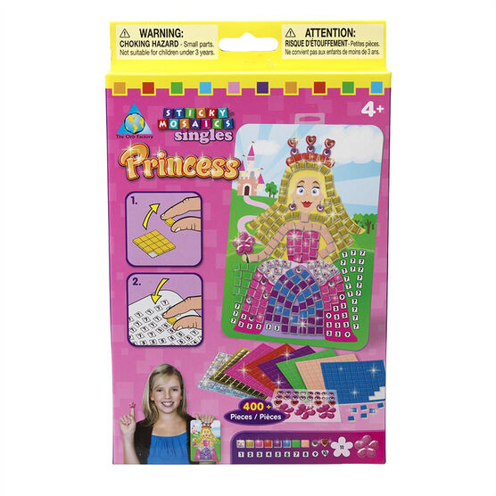 Sticky Mosaics Singles - Princess