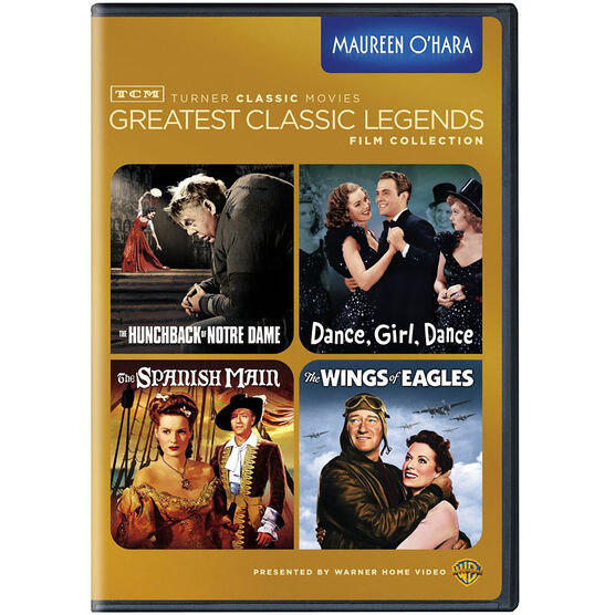 Maureen O'Hara Greatest Classic Legends Film Collection - DVD