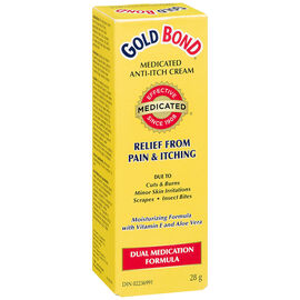 Gold Bond Medicated Anti-Itch Cream - 28g