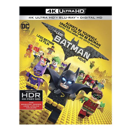 The LEGO Batman Movie - 4K UHD Blu-ray