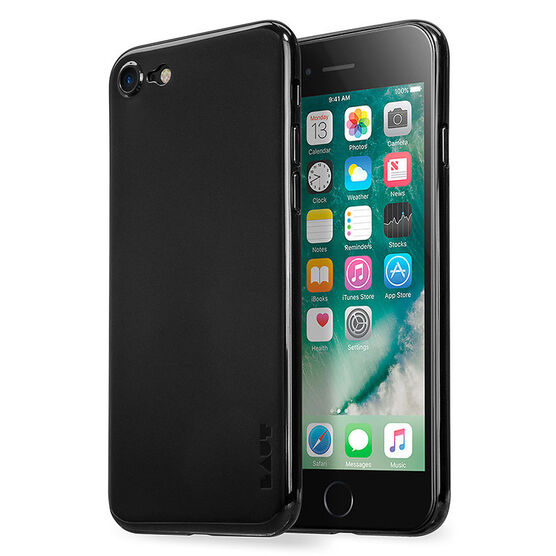 Laut Ultra SLIMSKIN Case for iPhone 7 - Jet Black - LAUTIP7SSJB