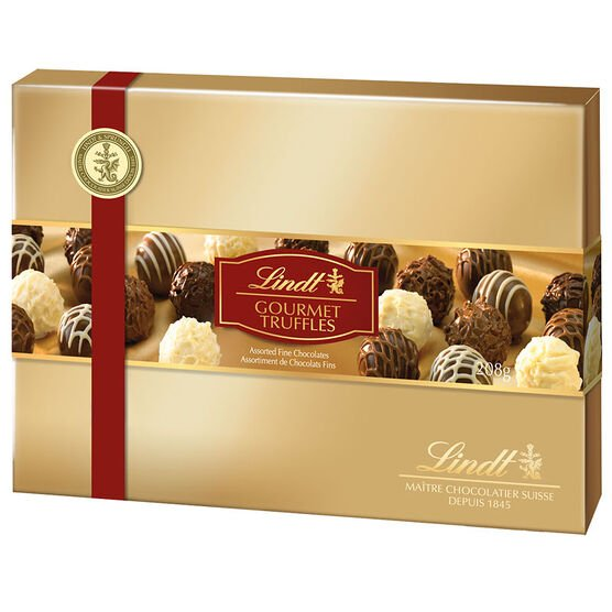 Lindt Assorted Gourmet Truffles - 208g