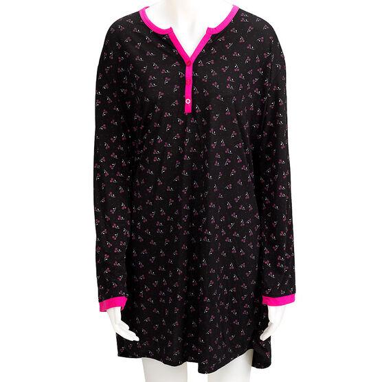 Jockey Long Sleeve Nightshirt - Assorted