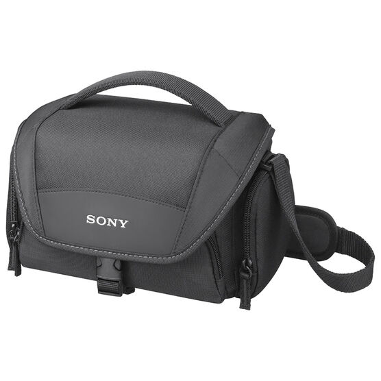 Sony LCS-U21 Carrying Case - Black - LCS-U21