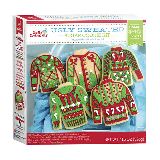 Ugly Sweater Sugar Cookie Kit -  326g