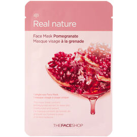 Real Nature Face Mask - Pomegranate - 20g