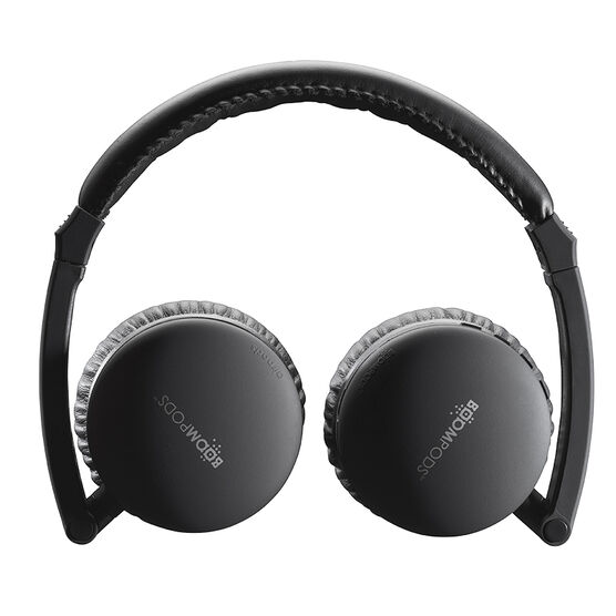 Boompods Skypods Bluetooth Headphones - Black - BPAPBLK