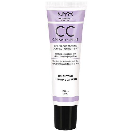 NYX Professional Makeup CC Cream - Lavender - Light/Medium
