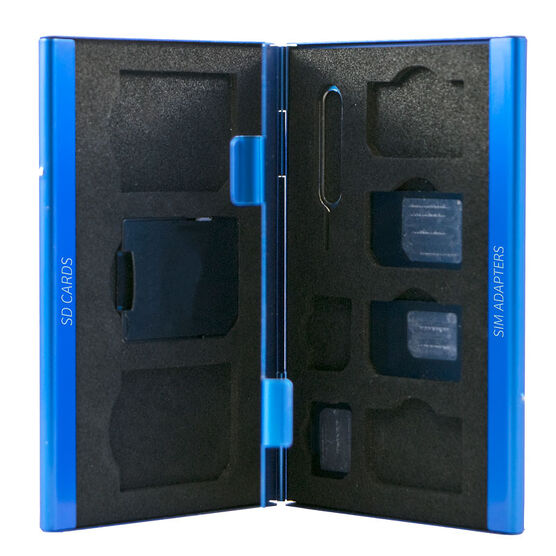 Logiix SIM Adapter Kit/Case - Blue - LGX12419