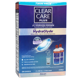 Clear Care Plus Cleaning and Disinfecting Solution - 2 x 360ml