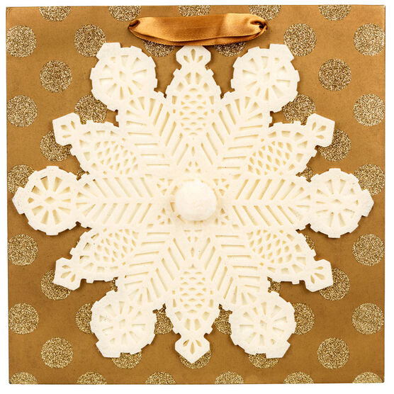Hallmark Signiture Bag - Snowflake - Large