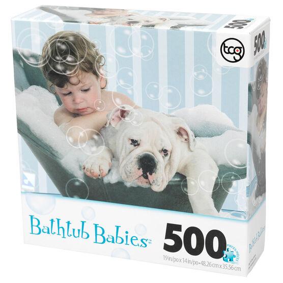 Bathtub Babies Puzzle - Assorted - 500 Pieces