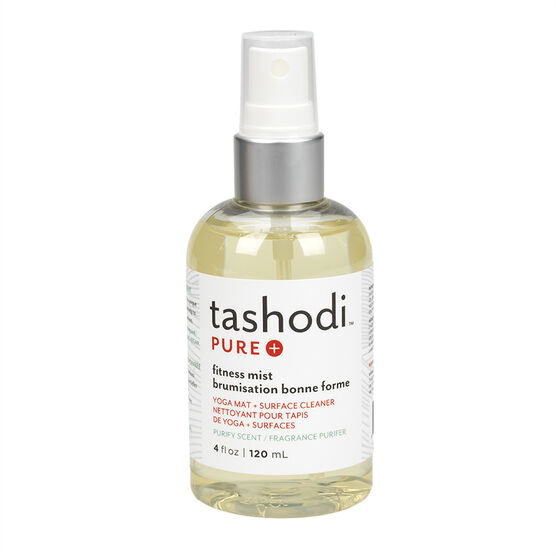 Tashodi Pure Fitness Mist Yoga Mat + Surface Cleaner - Purify Scent - 120 mL