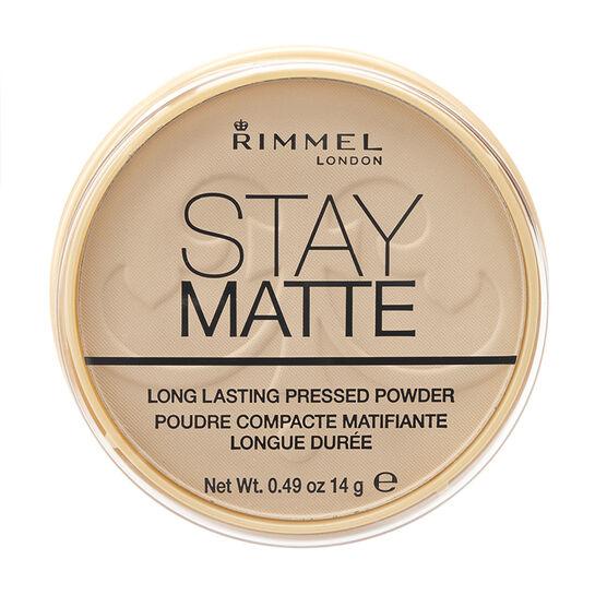 Rimmel Stay Matte Pressed Powder - Transparent
