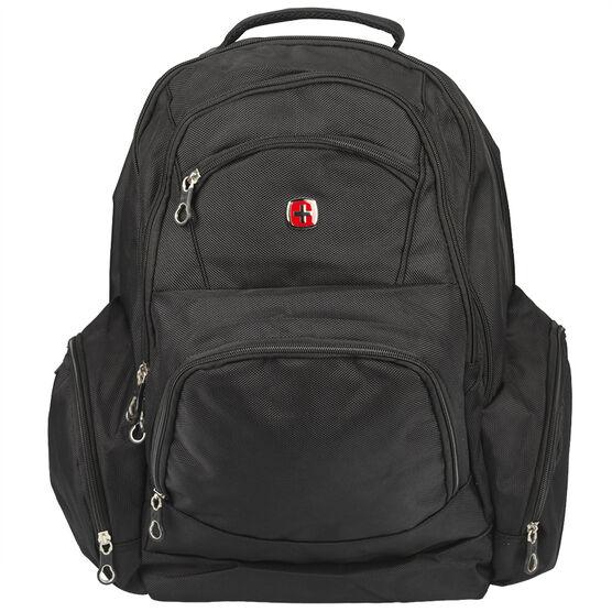 SwissGear College Backpack - Black