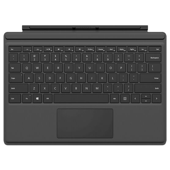 Microsoft Surface Pro 4 Type Cover - Black - QC7-0001