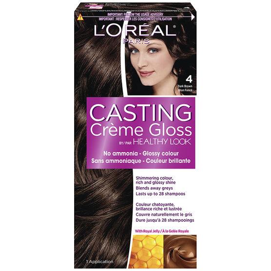 L'Oreal Casting Creme Colour - 4 Dark Brown