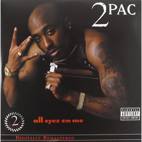2 Pac - All Eyez On Me - Vinyl