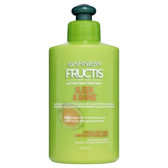Garnier Fructis Sleek & Shine Leave-in Conditioning Cream - 300ml