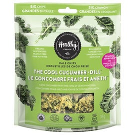 Healthy Crunch Kale Chips - Cool Cucumber & Dill - 35g
