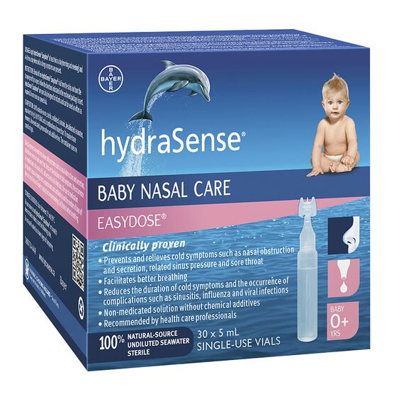 hydraSense Baby Nasal Care Easy Dose - 30 x 5ml