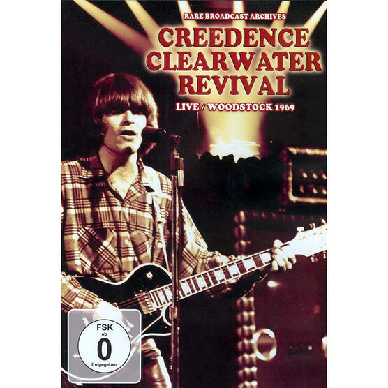 Creedence Clearwater Revival: Live at Woodstock 1969 - DVD
