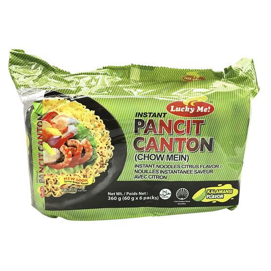 Lucky Me Pancit Canton Chow Mein - Kalamansi - 6's