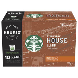K-cup Starbucks Coffee - House Blend - 10 pack